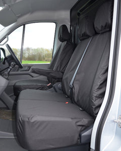 New VW Crafter Seat Covers - Black Passenger