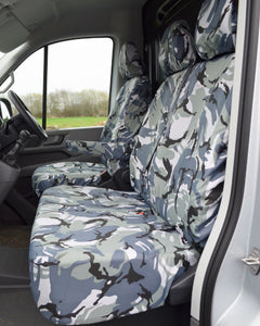 New VW Crafter Seat Covers - Camo Passenger
