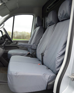 New VW Crafter Seat Covers - Grey Passenger