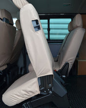 Load image into Gallery viewer, Transporter T5 Kombi Facelift - Cream Rear Seat Covers