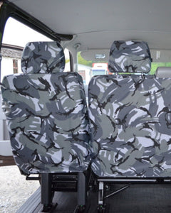 Transporter T5 Kombi Facelift Camouflage Rear Seat Covers