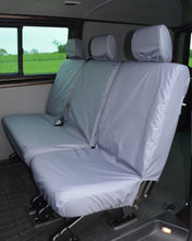 Load image into Gallery viewer, Transporter T5 Kombi Facelift - Rear Grey Seat Covers