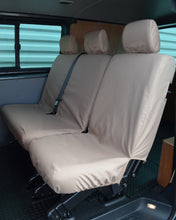 Load image into Gallery viewer, Transporter T5 Kombi Facelift - Rear Beige Seat Covers