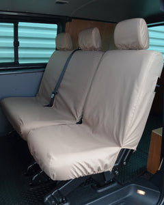 Transporter T5 Kombi Facelift - Rear Beige Seat Covers