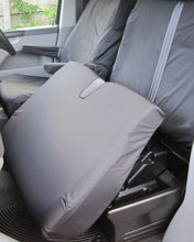 Load image into Gallery viewer, VW Transporter Dual Passenger Seat Cover - Black