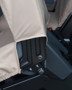 VW Transporter Kombi T6 2nd Row Seat Covers in Beige