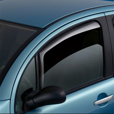 Fiat Doblo Van Slimline Side Window Deflectors