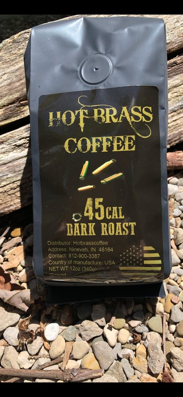 .45 Caliber Dark Roast (Free Shipping on Orders $30.00 or more!)