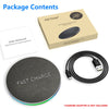 Image of Fast Wireless Charger For iPhone Samsung Round