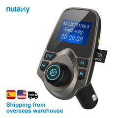 Hands-free Car Kit Audio and Transmitter Nulaxy