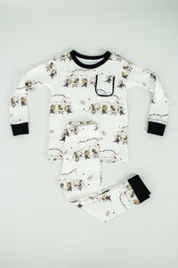 Saints Marching In Organic Cotton Pajama Set