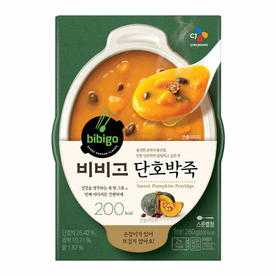비비고 단호박죽 280g / CJ Bibigo Pumpkin Porridge 280g