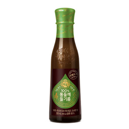 백설 100% 통들깨 들기름 160ML / CJ Beksul Healthy Perilla Oil 160ml
