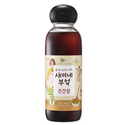 샘표 새미네 부엌 진간장 450/830ml / Sempio Semine Kitchen Soy Sauce Jin 450/830ml