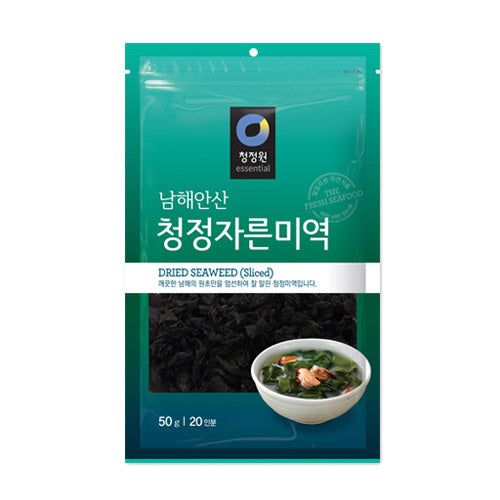 청정원 자른 미역 50g / CHUNGJUNGONE Dried Seaweed(Sliced) 50g