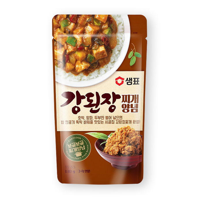 샘표 강된장찌개 양념 130g 3~4인분 / Sempio Soybean Paste Stew Sauce 130g 3~4Servings