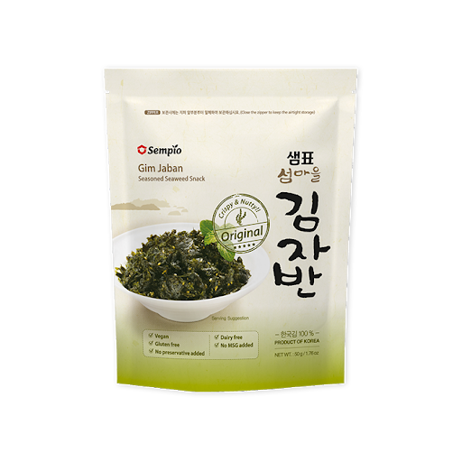 샘표 섬마을 김자반 50g / Sempio Crispy Seaweed Snack, Original Shrimp Hot Chili BBQ