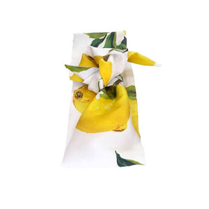 SILK HEAD SCARF 'LEMONADE'
