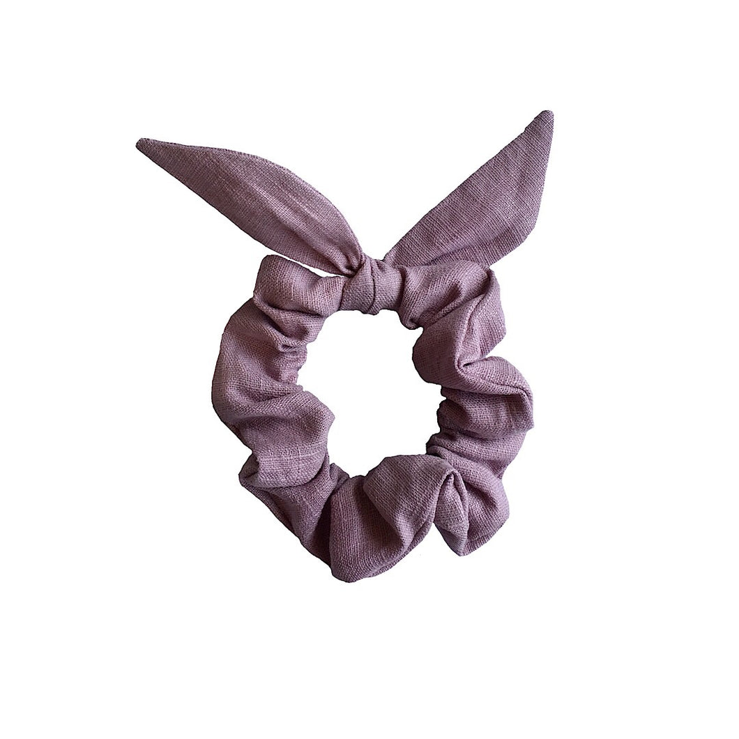 LINEN BUN WRAP 'DUSTY LILAC'
