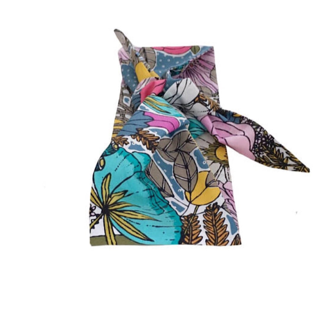 Blooms Organic Head Scarf