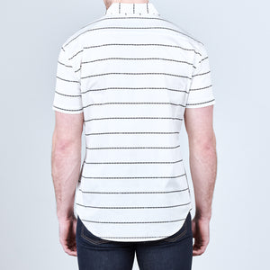 CHAIN STRIPE SHORT SLEEVE - CRWTH