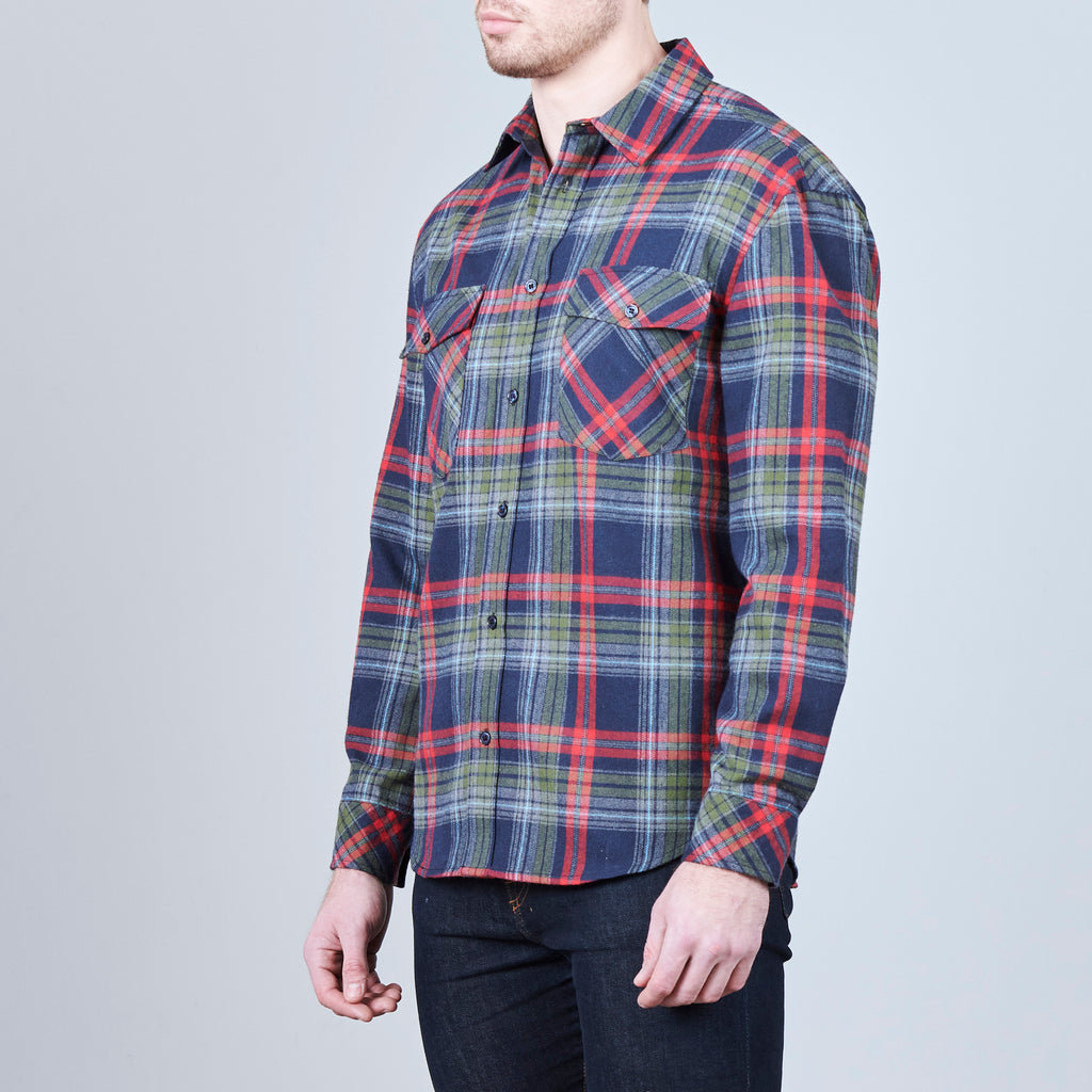 SHERIFF PLAID FLANNEL