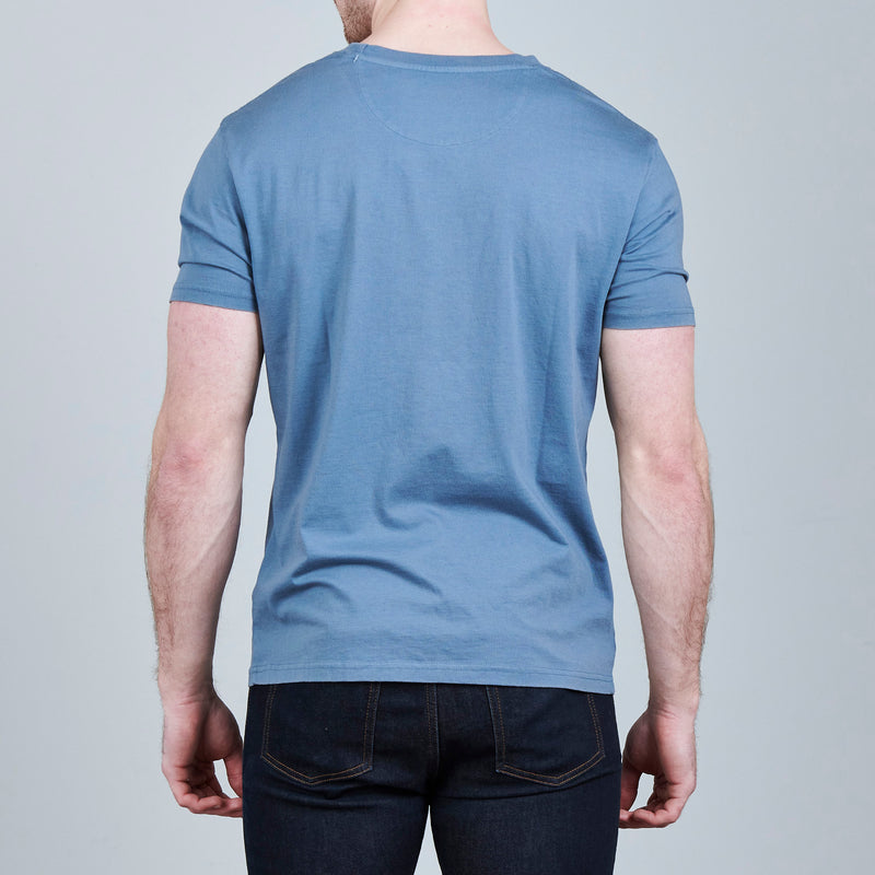 CRWTH VINTAGE T-SHIRT LIGHT BLUE