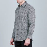 BADGES PRINT SHIRT