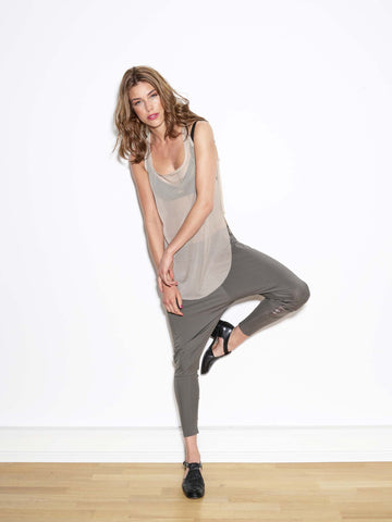 GY'BELL  Tank Top loose and round