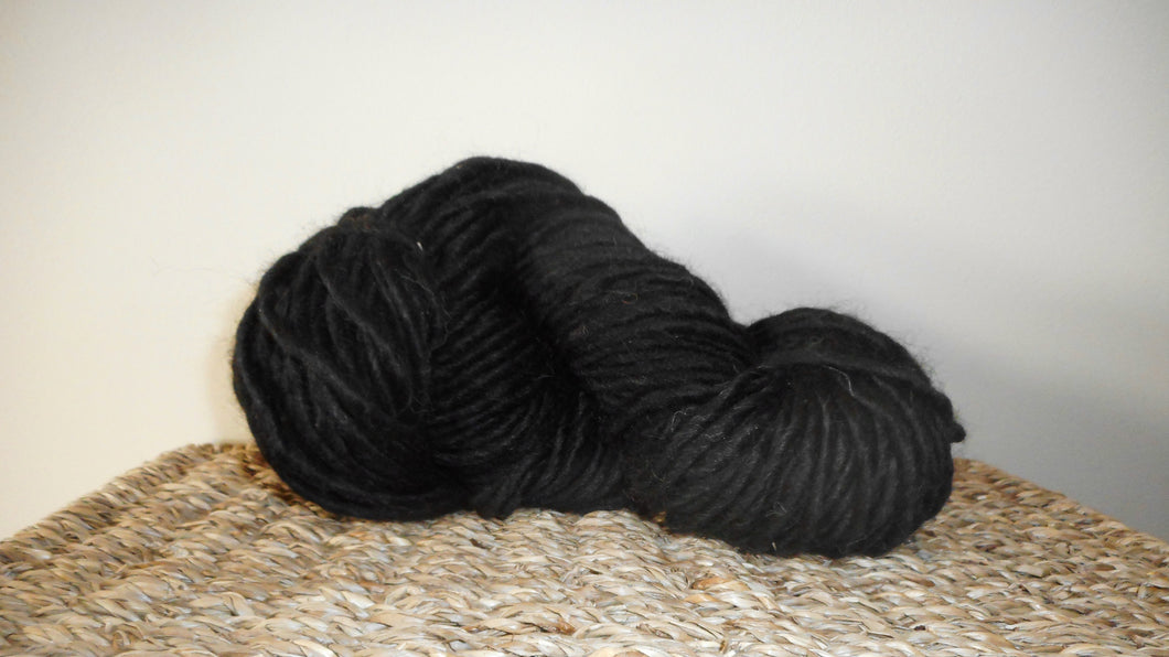 Blackberry Chunky Weight Alpaca Yarn Neutral Juicy Fruit Collection Prairie Spirit Alpacas