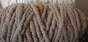 Cream Rug Core Yarn Alpaca Prairie Spirit Alpacas