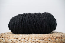 Load image into Gallery viewer, Charcoal Grey Rug Core Yarn Alpaca Prairie Spirit Alpacas
