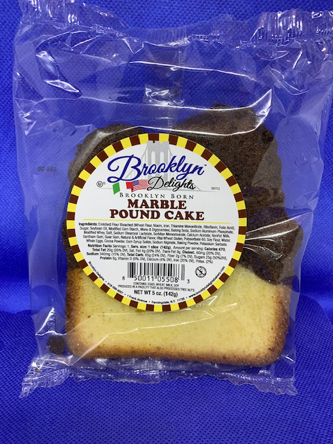 POUND CAKE  -5 oz ...MARBLE - 12 count