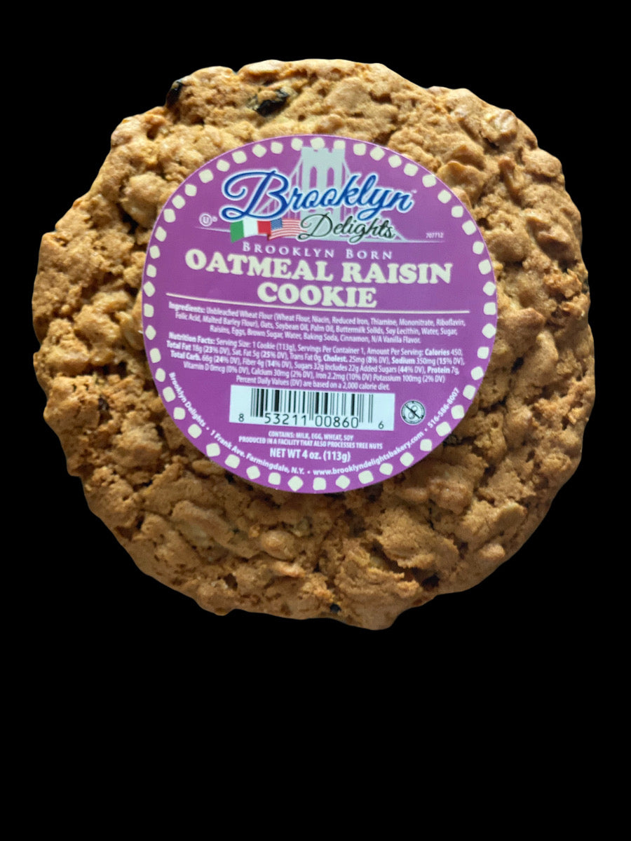 Oatmeal Raisin Cookie   ------ Only $ 1.33 each