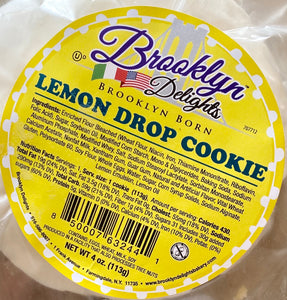 Lemon Drop Cookie  4 oz .. ------Only $ 1.33 per cookie