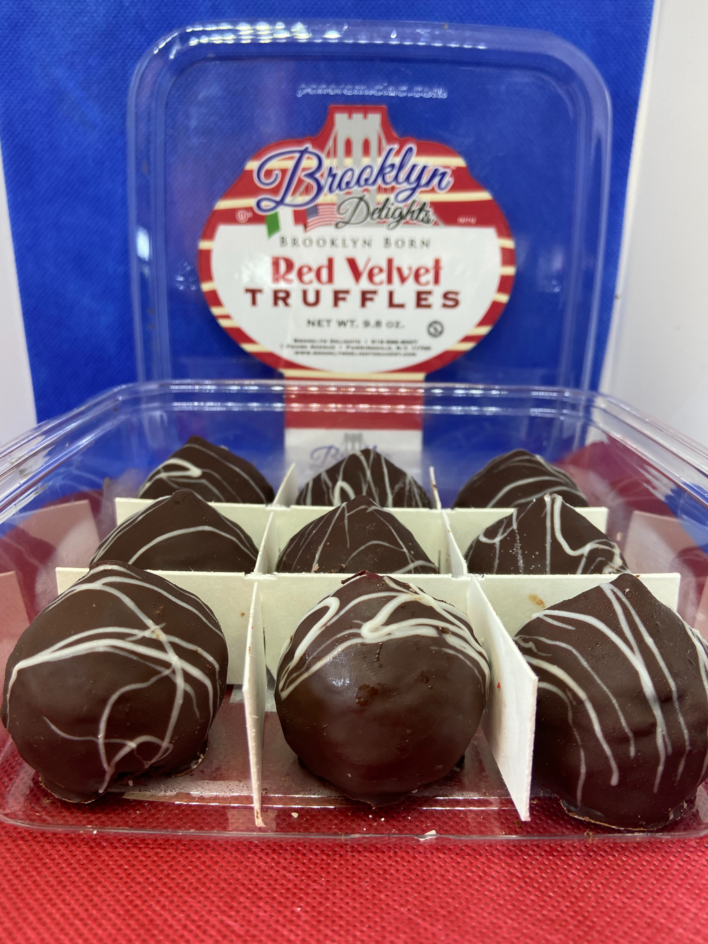 Family Pack - --------------Red Velvet Truffles - all hand made - on sale now !!