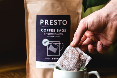 What are coffee bags?