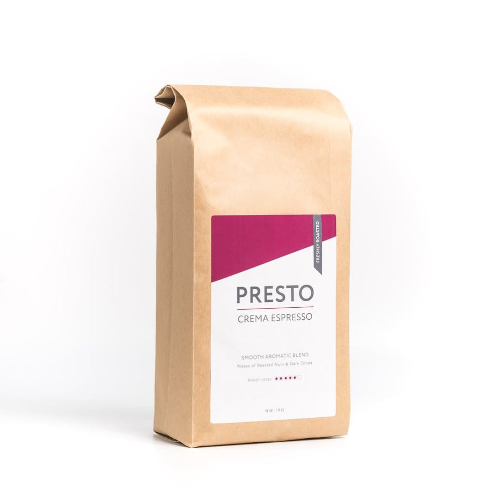 Presto Coffee Beans – Cafè Crema - Medium/Dark - 1KG