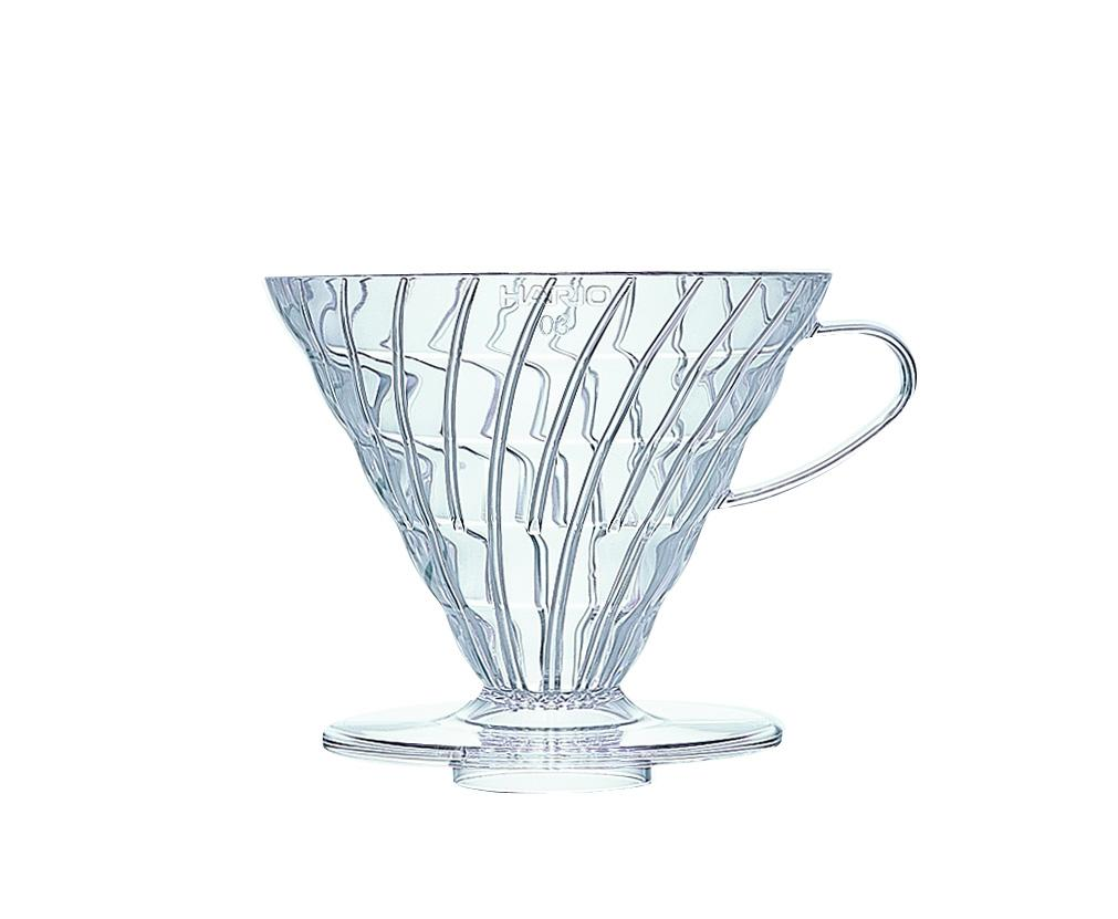 Hario V60 01 Coffee Dripper Plastic Including 40 FREE Filter Papers