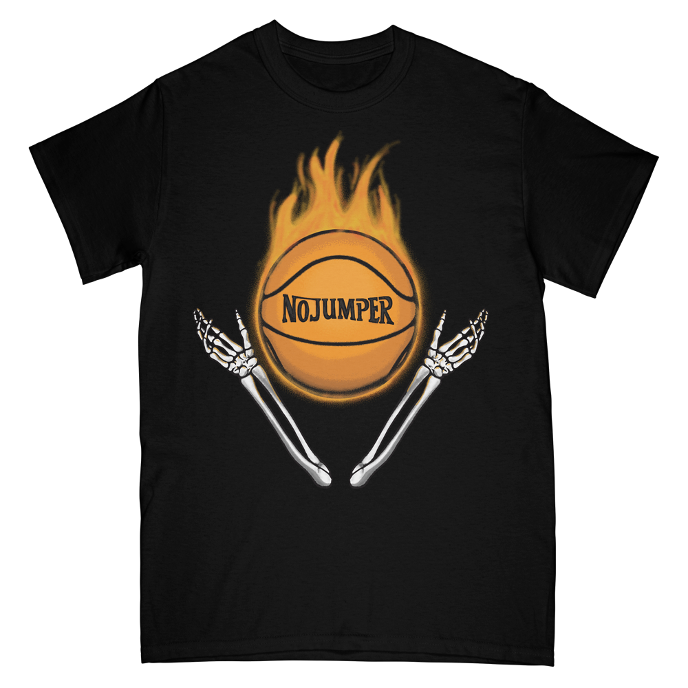 HOT FIRE TEE - BLACK