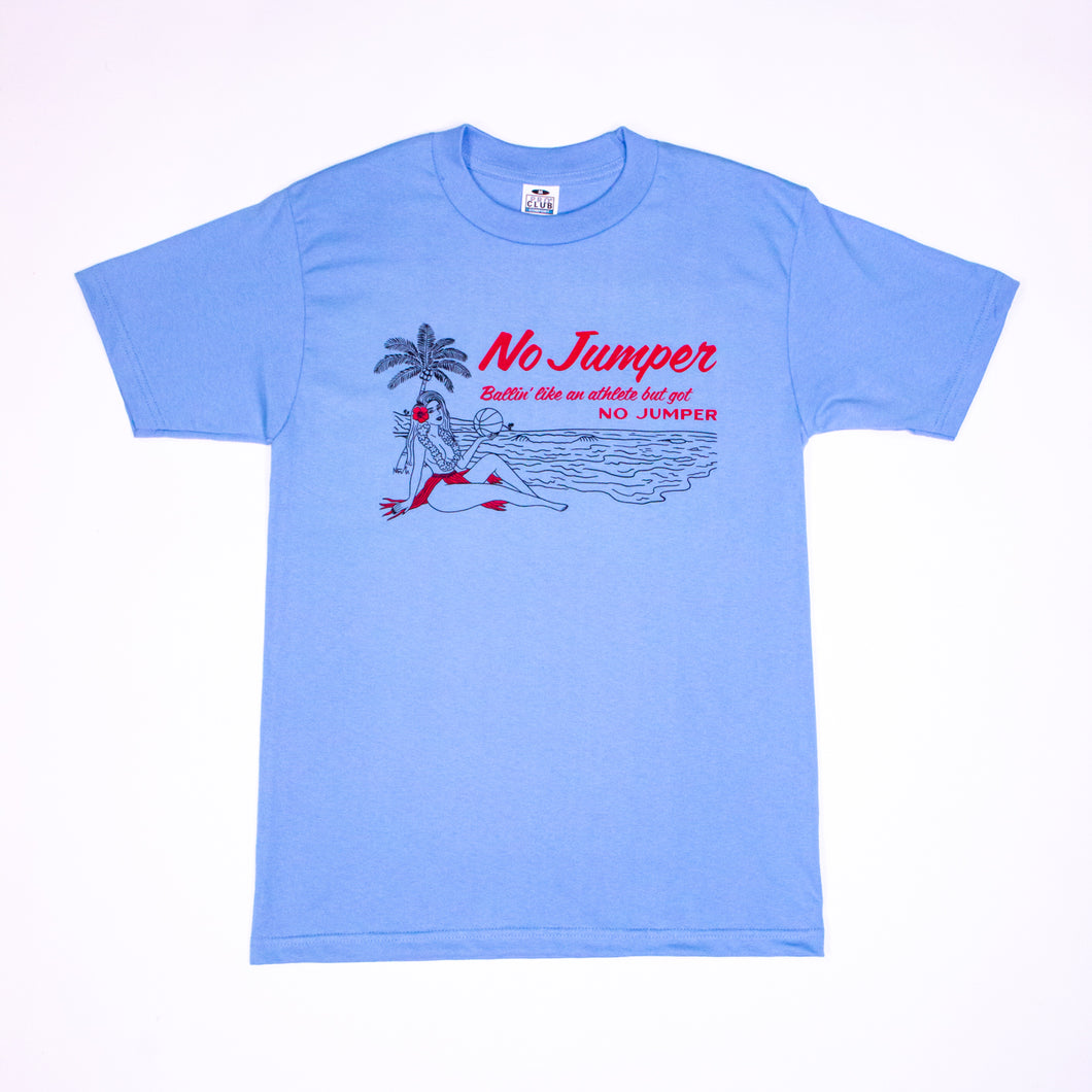 HAWAII TEE - OCEAN BLUE