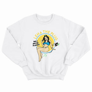 LTP GOOD DAY CREWNECK - WHITE