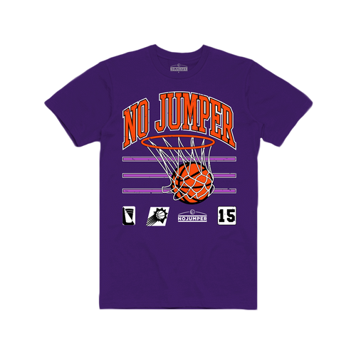 NO JUMPER SWISH T-SHIRT - PURPLE