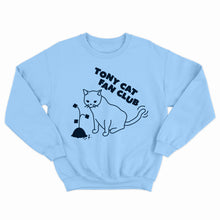 TONY CAT FAN CLUB CREWNECK - BLUE