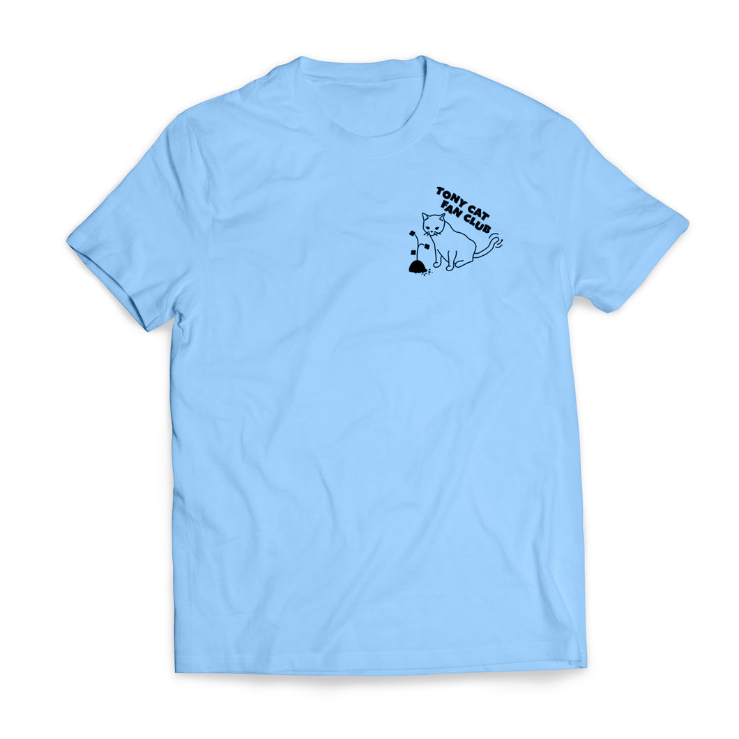 TONY CAT FAN CLUB TEE - BLUE