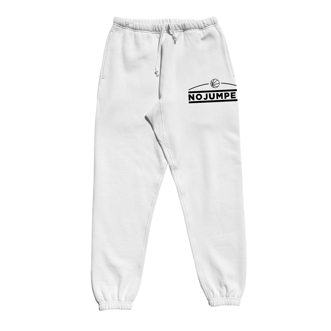 LOGO SWEATPANTS - WHITE