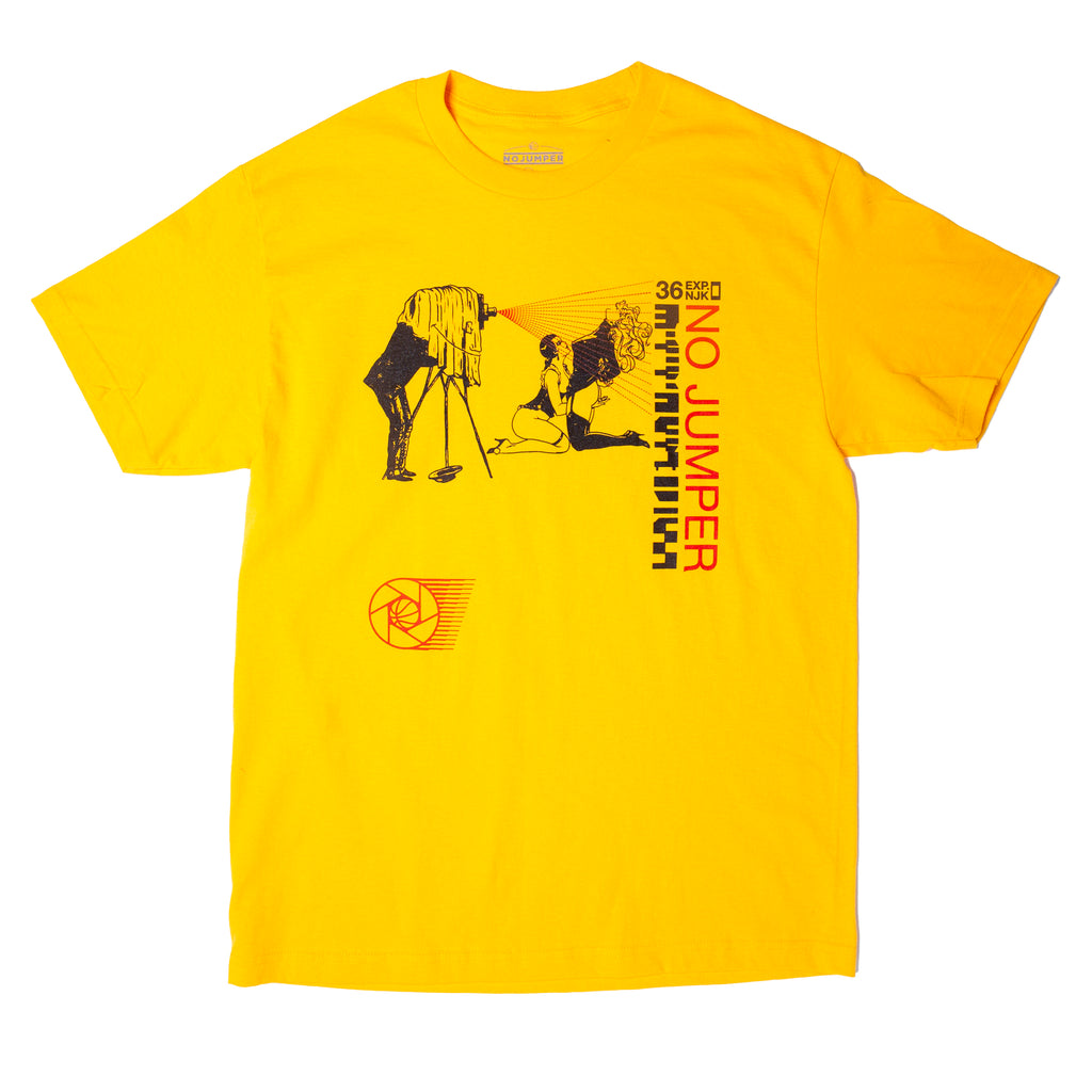 NJK OVER-EXPOSED TEE - YELLOW