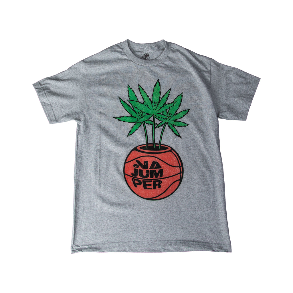 INDUSTRY PLANT tee - heather grey