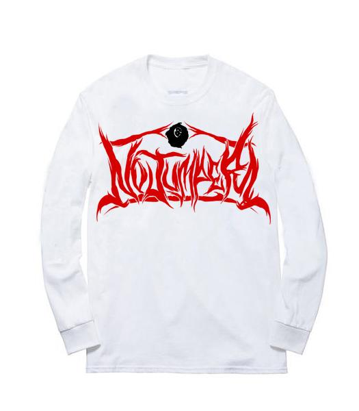 NO JUMPER x SECTION8 WHITE L/S T-SHIRT