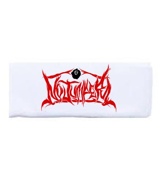 NO JUMPER x SECTION8 WHITE HEADBAND